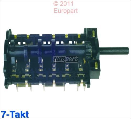 Schalter Elektroherd 7takt 4073 1 Universell Aeg B S Bauknecht